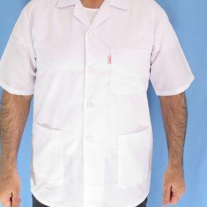 1 4 300x300 - روپوش پزشکی کتی مردانه یقه انگلیسی