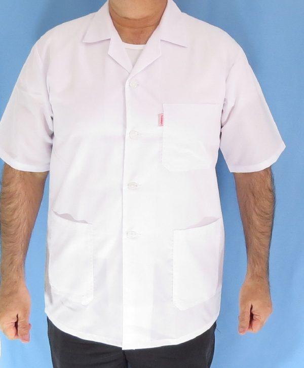 1 4 600x726 - روپوش پزشکی کتی مردانه یقه انگلیسی