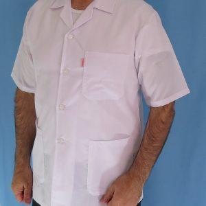 2 4 300x300 - روپوش پزشکی کتی مردانه یقه انگلیسی