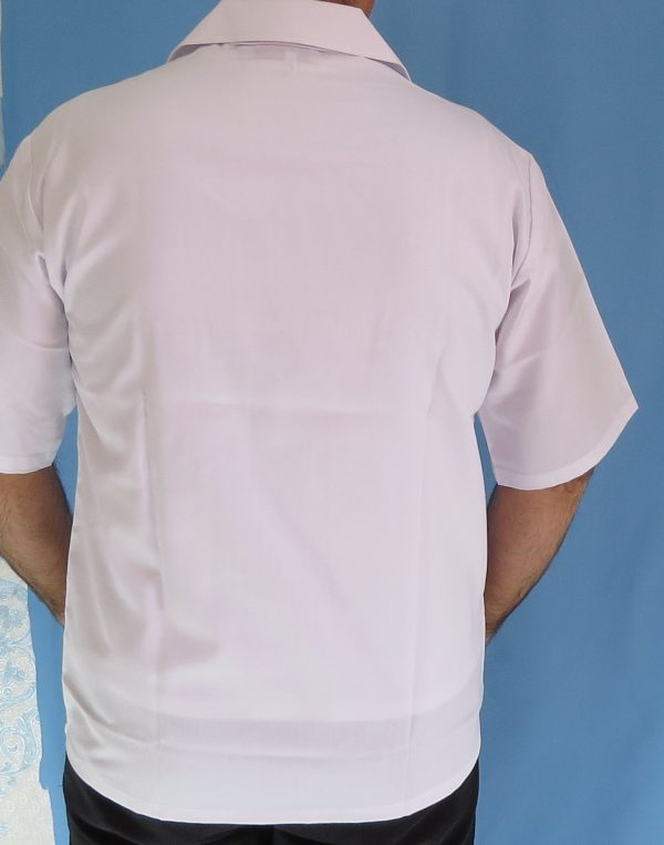 4 1 600x763 - بلوز تک نیم زیپ سفید مردانه