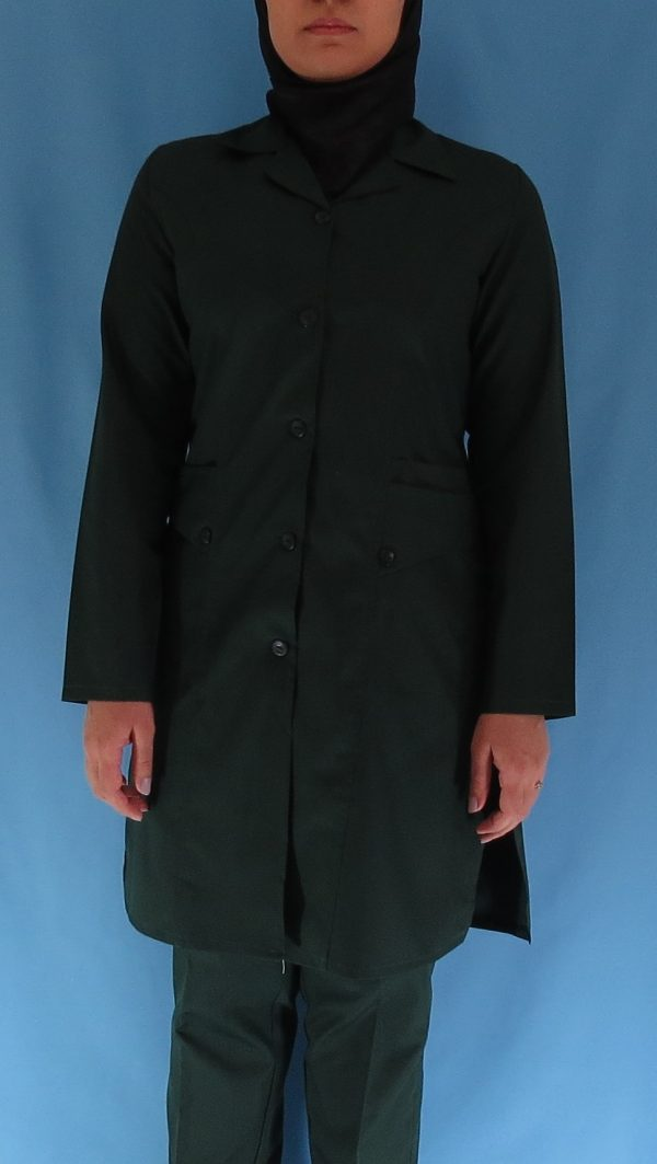 6 1 600x1063 - مانتو شلوار زنانه اتاق عمل - رنگ سبز یشمی
