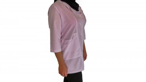 IMG 8526 copy 600x337 - روپوش پزشکی زنانه چهارجیب کتی