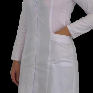 IMG 8542 copy 300x300 - روپوش پزشکی زنانه آرشال پیله دار
