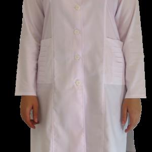 IMG 8651 copy 300x300 - روپوش پزشکی زنانه جیب پیله دار