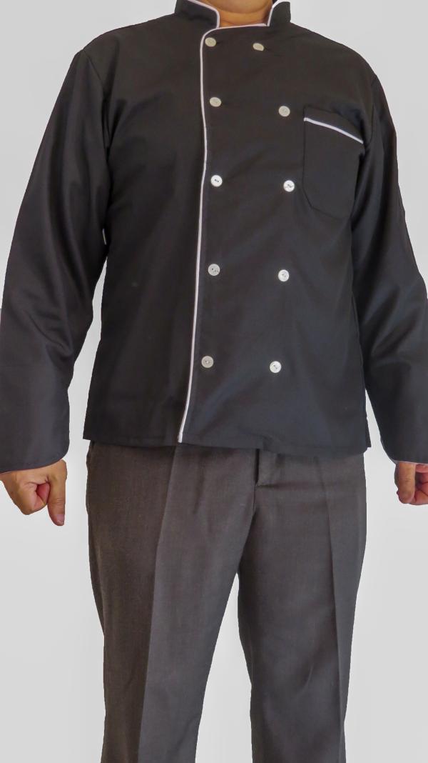 IMG 8673 copy 600x1068 - لباس سرآشپزی مدل 10 دکمه