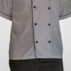 IMG 8679 copy 100x100 - پیراهن سفید یقه چرکتاب مردانه آستین کوتاه