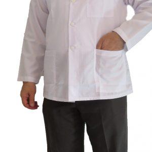 Sheykhi Boland 300x300 - روپوش پزشکی یقه فرنچ کتی سه جیب