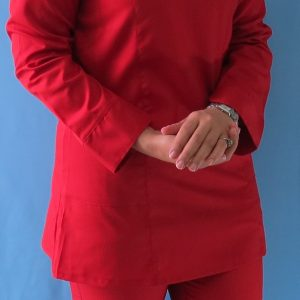 قرمز1 300x300 - اسکراب تونیک شلوار قرمز