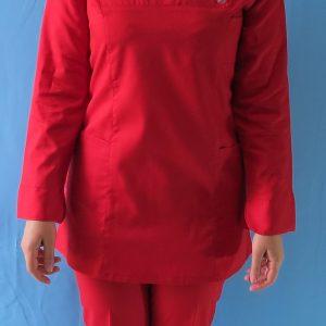 قرمز5 300x300 - اسکراب تونیک شلوار قرمز
