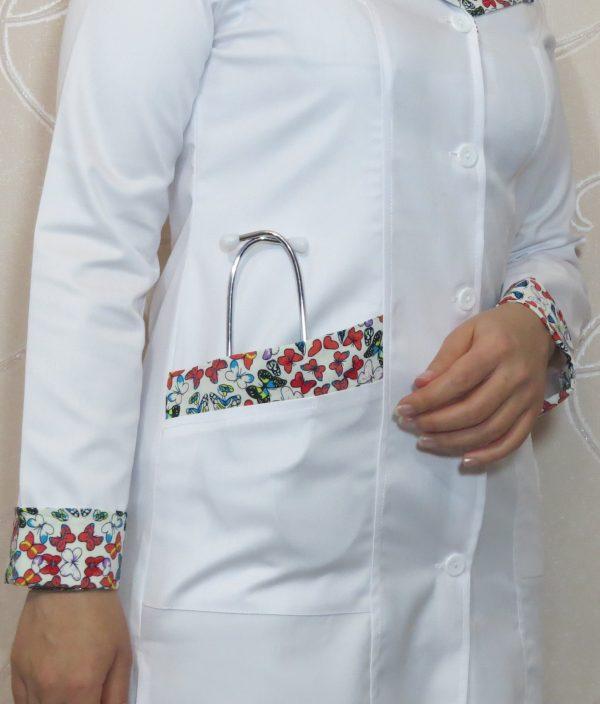 PARVANE6 600x704 - روپوش سفید طرح پروانه ای آرشال