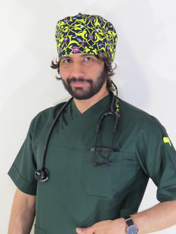 اسکراب (بلوز شلوار) مردانه سبز یشمی